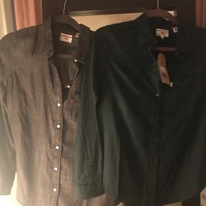 Levis button down shirt bundle!